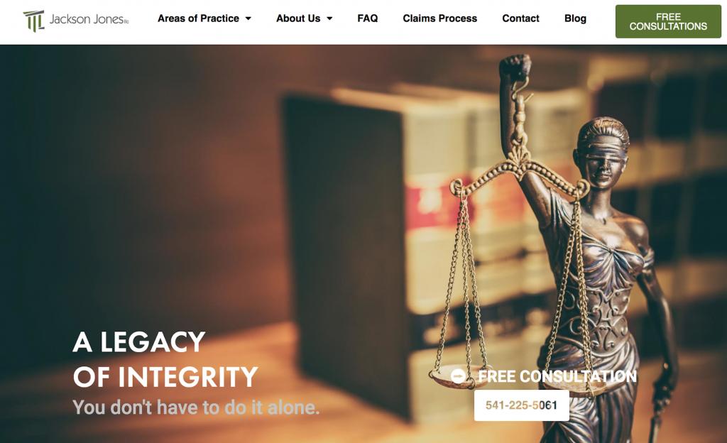 jackson jones law website