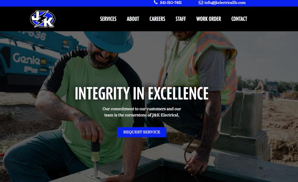 jandk electrical contractor website